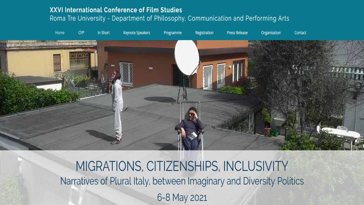 2021 - XXVI Convegno Inter. Studi Cinematografici